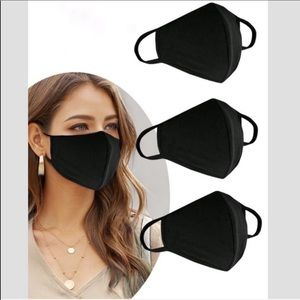 Accessories - (3) MADE IS USA Face Mask Washable Reusable Unisex